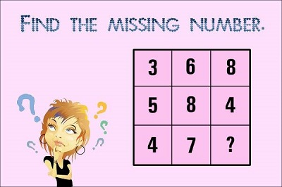 Test your brain: Find the missing number