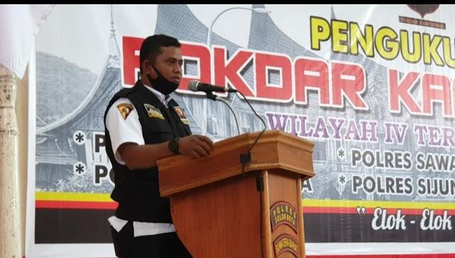 Jon Pandu Mewakili Sambutan dari Lima Ketua Pokdar Wilayah IV | dutametro