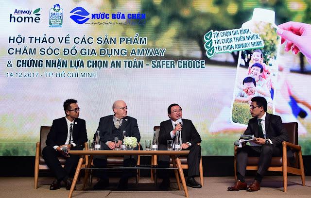 AMWAY HOME Việt Nam đạt chứng nhận SAFER CHOICE uy tín của Hòa Kỳ