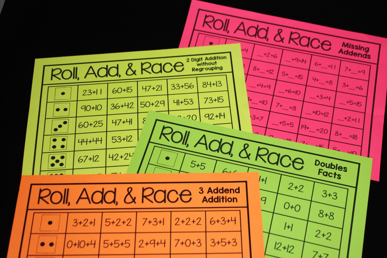 Addition Fluency Fun With Free I Spy Addition Game