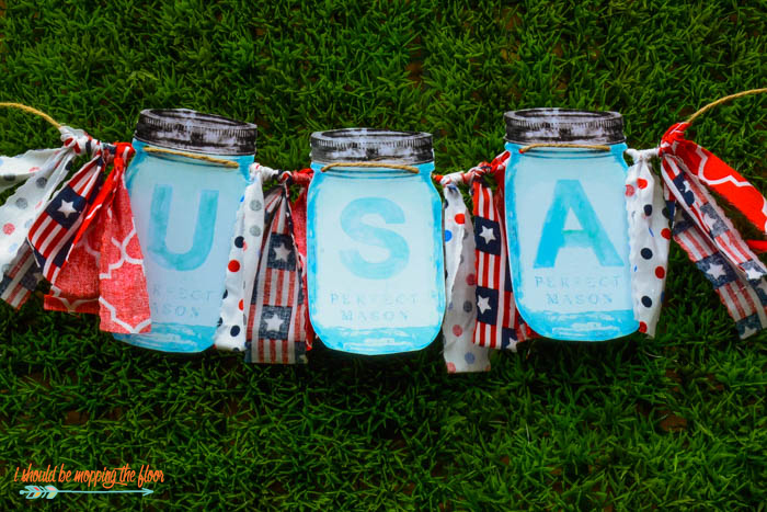 Printable Watercolor Mason Jar Letters A-Z | Perfect for banners, initials, decor, and more!