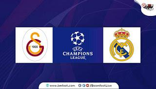 ريال مدريد ضد غلطة سراي مباشر