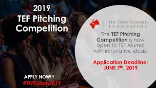 2019 TEF Pitching Competition 2019 for Alumni with Innovative Ideas