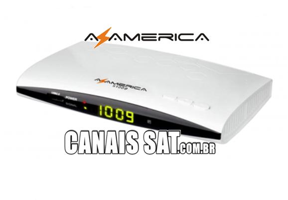 Azamerica S1009 HD Nova Atualização V2.54 - 24/06/2020
