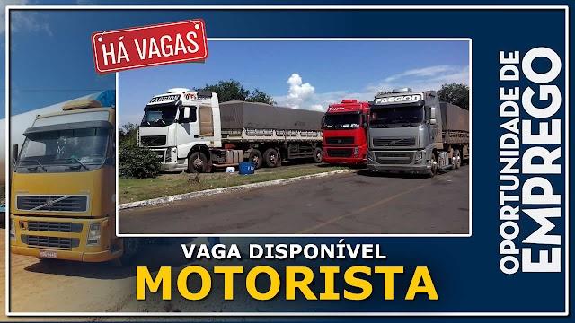 Faggion Transportes abre vagas para Motorista Carreteiro