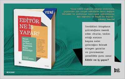 Peter Ginna, Editör Ne İş Yapar, Delidolu Yayınları