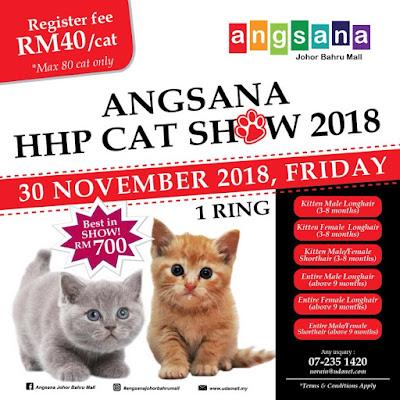 ANGSANA HHP CAT SHOW 2018