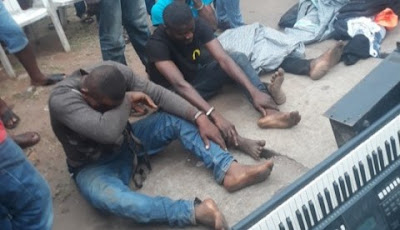 3 Robbers Caught Stealing Music Instruments From Churches In Delta (Photos)