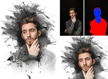 hiệu ứng action trong photoshop