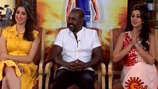 Motta Siva Ketta Siva Team Interview 12-03-2017 | Sun TV Show | Ragava Lawrence, Nikki Galrani & Rai Lakshmi