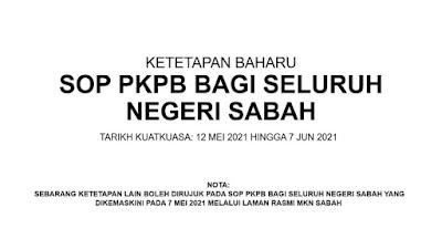 SOP PKP Seluruh negeri Sabah