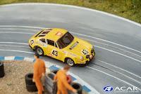 Slot Car Porsche 911 24h Le Mans 1970 Jean-Pierre Gaban #43