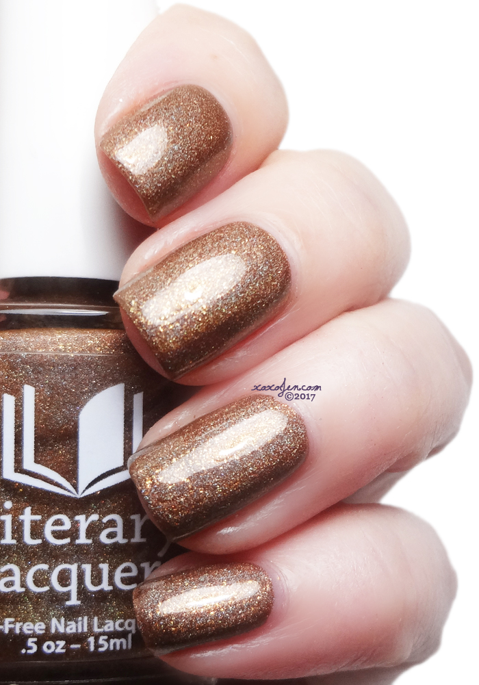 xoxoJen's swatch of Literary Lacquers Tulgey Wood