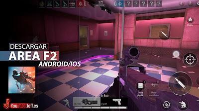 El Mejor Shooter para Teléfono? Descargar Area F2 para Android o iOS