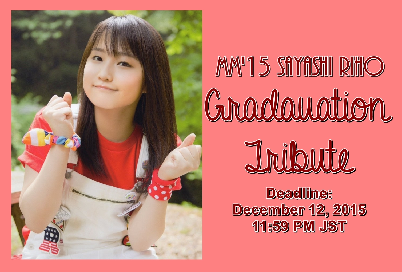 Chuu Sugoi Idol Sayashi Riho Graduation Tribute Plan