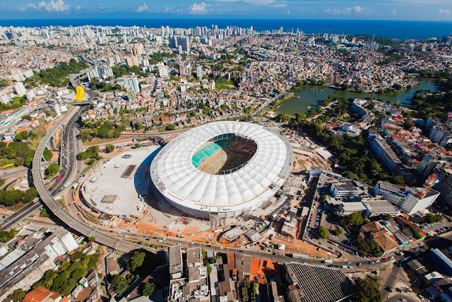 Fonte Nova é o estádio mais bonito da Copa de 2014