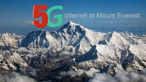 5G signal now available on the world's highest Peak Mount Everest