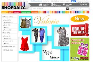 Shopdaily.pk website