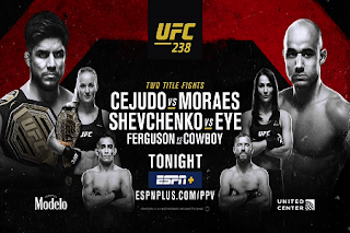 UFC 238 Pay Per View Eutelsat 7A/7B Biss Key 9 June 2019