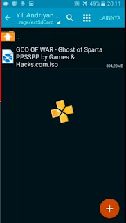 Link Download Game PPSSPP 'GOD Of WAR' (250 MB) Kualitas Terbaik
