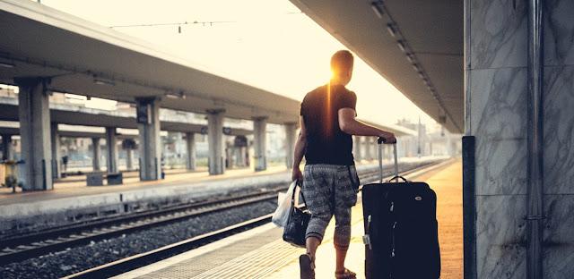 Viajar de trem por toda a Itália