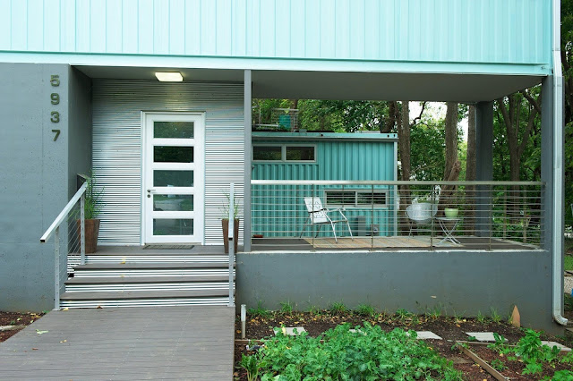 2000 sq ft Shipping Container House, Kansas City, Missouri 9