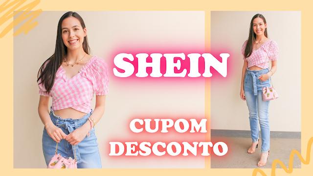 Recebidos Shein: Blusas, calça jeans e cardigan cupom de desconto
