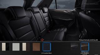 Nội thất Mercedes GLE 400 4MATIC Exclusive 2018 màu Đen 211
