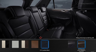 Nội thất Mercedes GLE 400 4MATIC Exclusive 2019 màu Đen 211