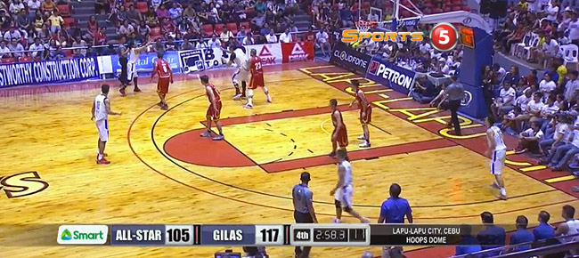 Gilas Pilipinas def. PBA Visayas All-Stars, 125-112 (REPLAY VIDEO) April 30
