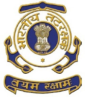 Indian Coast Guard, Assistant Commandant, Force, 12th, freejobalert, Sarkari Naukri, Latest Jobs, indian coast guard logo