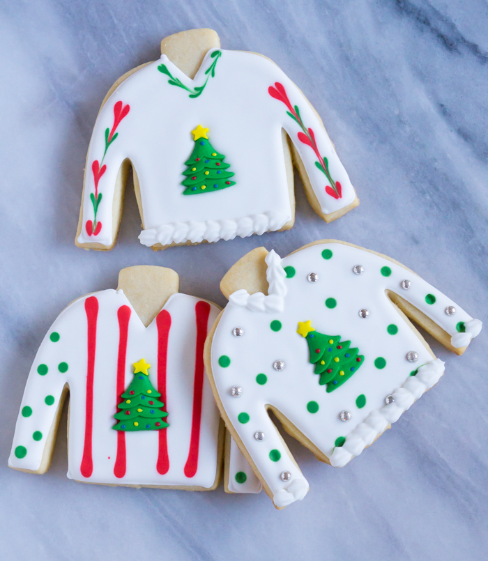 Easy Ugly Christmas Sweater Cookies Bake At 350