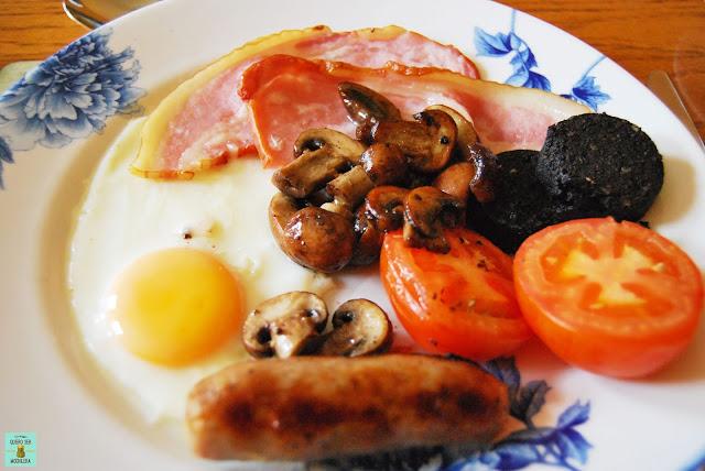 Desayuno típico en Escocia