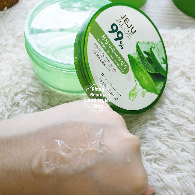 The FaceShop Jeju Aloe Fresh Soothing Gel Review