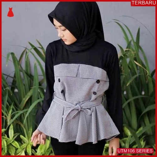 UTM106A85 Baju Alika Muslim Atasan UTM106A85 06A | Terbaru BMGShop