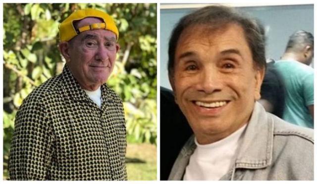 Renato Aragão chora com visita e agradecimento de Dedé Santana