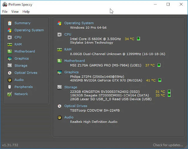 What Hardware Is Inside My PC: Graphics, CPU & RAM Specs