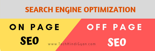 What is On Page SEO and Off Page SEO?
