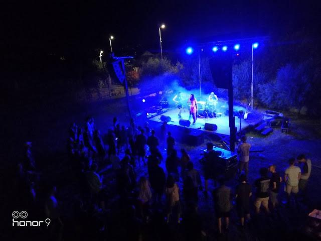 balans so 6. avgusta nastopili na idiličnim odru v primorski vasici Sv. Anton. Foto: Luka Petešič