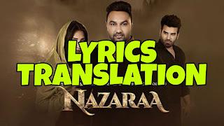 Nazaraa Lyrics in English | With Translation | – USTAD PURAN CHAND WADALI & LAKHWINDER WADALI