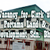 Vacancy for Clerk at Pertama Land & Development Sdn. Bhd - Ogos 2015