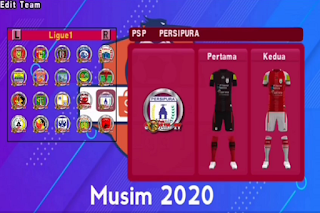 Latest features of PES 2020 PPSSPP