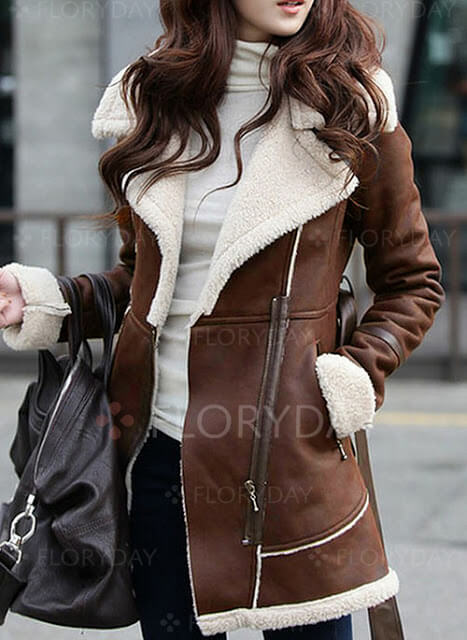 Long Sleeve Collar Sashes Trench Coats