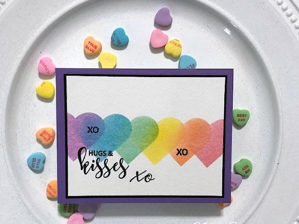 Rainbow Hugs & Kisses