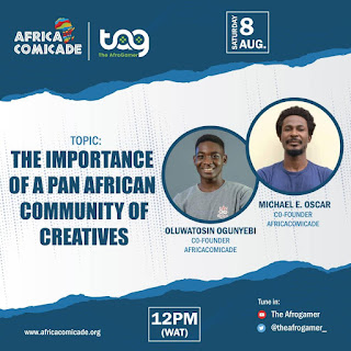 Africacomicade Founders