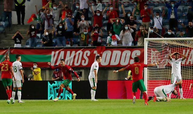 ملخص واهداف مباراة البرتغال وايرلندا (2-1) تصفيات كاس العالم