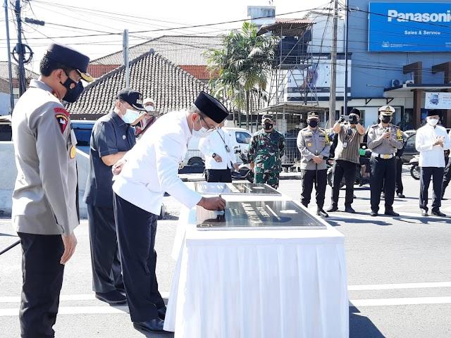 Usai Diresmikan, Gubernur Jabar Serahkan Fly Over Jalan Laswi dan Jalan Jakarta ke Pemkot Bandung