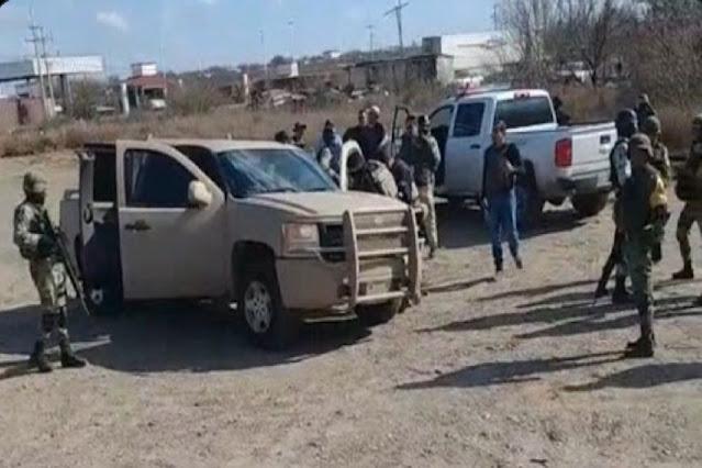 Por andar atacando a quienes no debían, Militares abaten esta tarde a 4 Sicarios de Las Tropas del Infierno en Tamaulipas