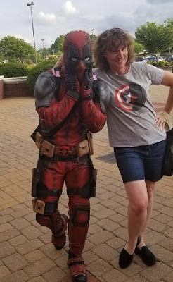 #ncdeadpool, Deadpool cosplay