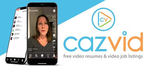 CazVid Video Job Listings & Video Resumes App